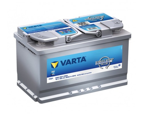 Μπαταρία Varta F21 Start Stop Plus AGM Technology 12V 80AH-800A 580901080D852