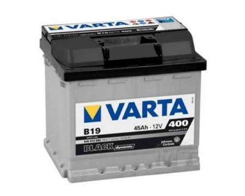 Μπαταρία Varta Black Dynamic B19 45AH-400EN 5454120403122