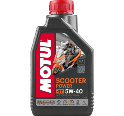 Motul Scooter Power 4T 5W-40 MA 1L