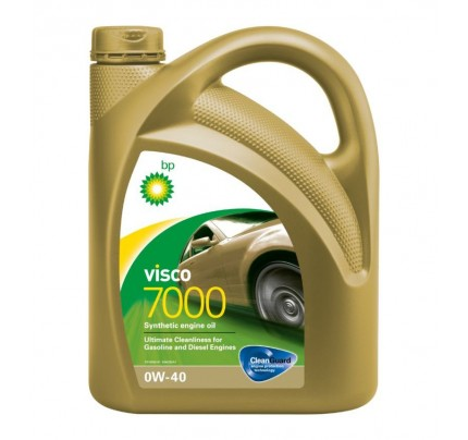 BP VISCO 7000 0W-40 4L