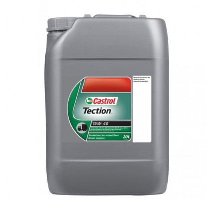 Castrol Tection Medium Duty 15W-40 20L