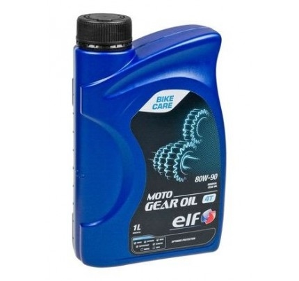 Elf Moto Gear Oil (4T) 80W-90 1lt