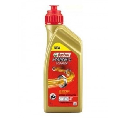 Castrol Power 1 Scooter 4T 5W-40 1L