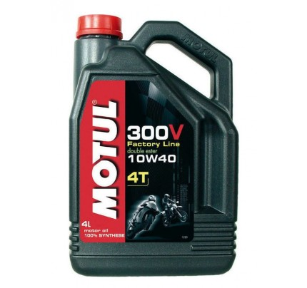 Motul 300V Factory line Road Racing 10W-40 4lt