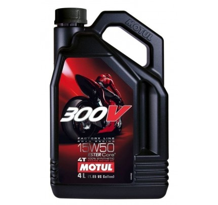 Motul 300V Factory line Road Racing 15W-50 4lt