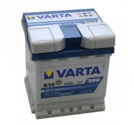 Μπαταρία Varta Blue Dynamic B35 42AH 390A 5424000393132