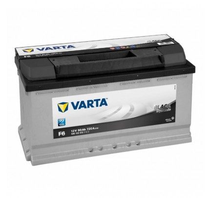 Μπαταρία Varta Black Dynamic F6 90AH (590122072) 5901220723122